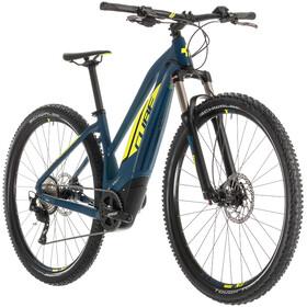 Cube Acid Hybrid Pro 500 Elcykel MTB Hardtail Trapez blå